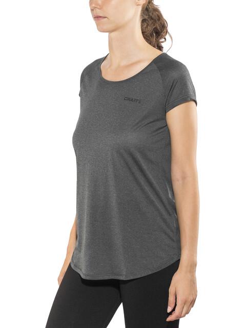 Craft W's Eaze SS Shirt Black Melange